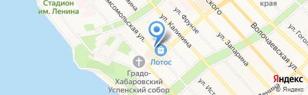 Elena Studio на карте Хабаровска