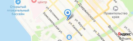 ИНТЕРТУЛ на карте Хабаровска