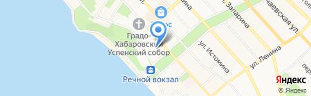 Амур-Система на карте Хабаровска