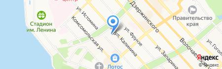 JARDIN на карте Хабаровска