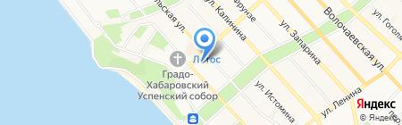 ТЮЗ на карте Хабаровска