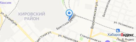 Ремонтно-эксплуатационная служба на карте Хабаровска