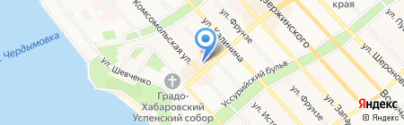 Gobi на карте Хабаровска