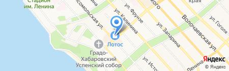 Ювелирная лавка на карте Хабаровска