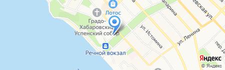 Следственное управление Следственного комитета РФ по Хабаровскому краю на карте Хабаровска