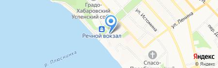 Управление МВД России по Хабаровскому краю на карте Хабаровска