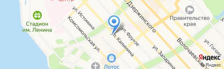 Sweet Socks на карте Хабаровска