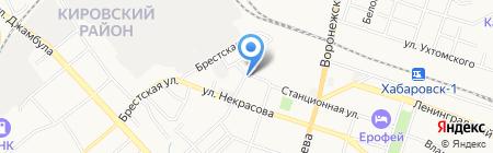 Дальспецбытмонтаж на карте Хабаровска