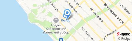 THE LOFT на карте Хабаровска