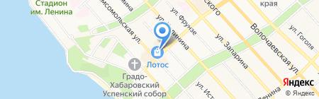Компания МОЙ ДРУГ на карте Хабаровска