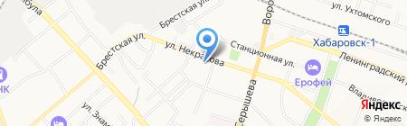 Резонанс на карте Хабаровска