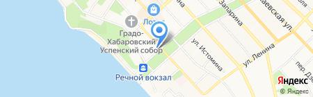 Институт горного дела на карте Хабаровска