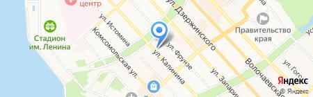 Тауэр на карте Хабаровска