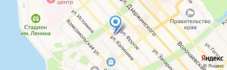 Gioia на карте Хабаровска