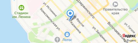 Ассоциация юристов и налоговых консультантов на карте Хабаровска