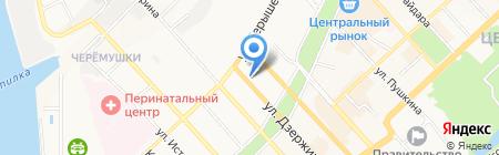 Strich Studio на карте Хабаровска