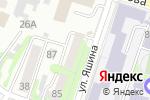 Схема проезда до компании Общежитие в Хабаровске
