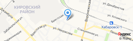 2К на карте Хабаровска