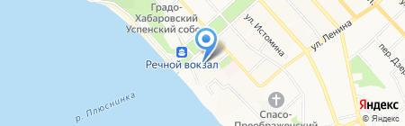 ГСК №290 на карте Хабаровска