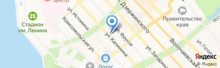 Центр диагностики и консультирования на карте Хабаровска