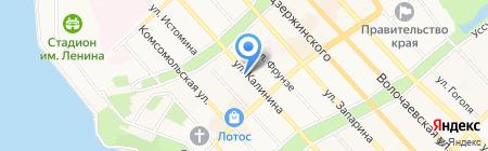 Стоматологическая поликлиника на карте Хабаровска