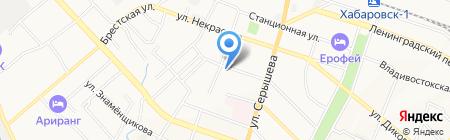 Госморречнадзор на карте Хабаровска