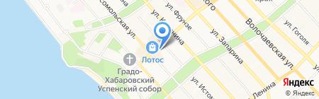 ВТБ Страхование на карте Хабаровска