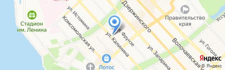 Открытый мир-ДВ на карте Хабаровска