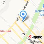 Истстрой на карте Хабаровска
