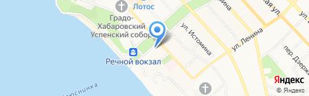 Евросвет на карте Хабаровска