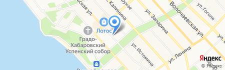 ТОНУС-КЛУБ на карте Хабаровска