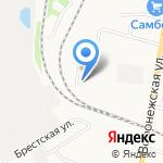 Транс Трек-ДВ на карте Хабаровска