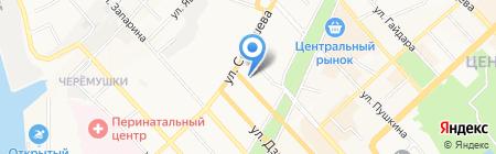 ЗащитаИнфоТранс на карте Хабаровска