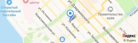 КНОТОК на карте Хабаровска