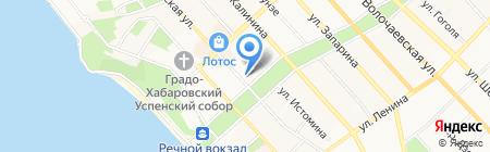 Альянс-Стройиндустрия на карте Хабаровска