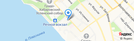 Дорогая Мадлен на карте Хабаровска