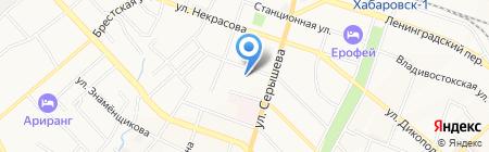 ФасадСтрой ДВ на карте Хабаровска