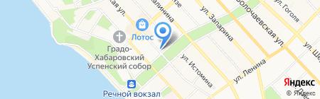 Дальневосточная дирекция по управлению терминально-складским комплексом на карте Хабаровска