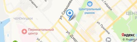 Премиум Сервис на карте Хабаровска