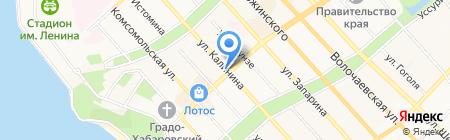 Добрый Дэн на карте Хабаровска