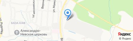 Аркаим на карте Хабаровска