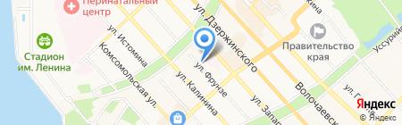 Весь Мир путешествий на карте Хабаровска