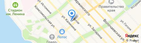 Гриль на карте Хабаровска