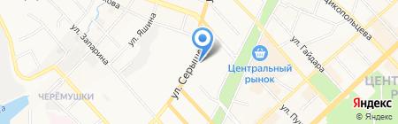 Ногтевая студия Марины Кузнецовой на карте Хабаровска