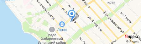 Центр Восстановительной медицины на карте Хабаровска