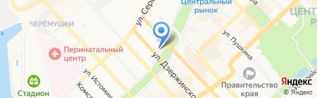 Happy dog на карте Хабаровска