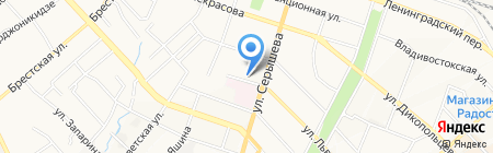 Пили-Ели на карте Хабаровска