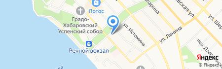 Управление дорог и внешнего благоустройства на карте Хабаровска