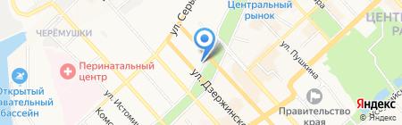 СорокинСтрумент на карте Хабаровска