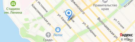 Сахаювелир на карте Хабаровска